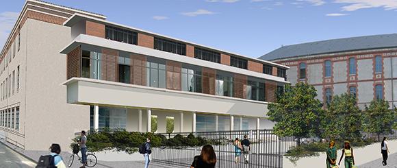College lycée François Premier, Fontainebleau